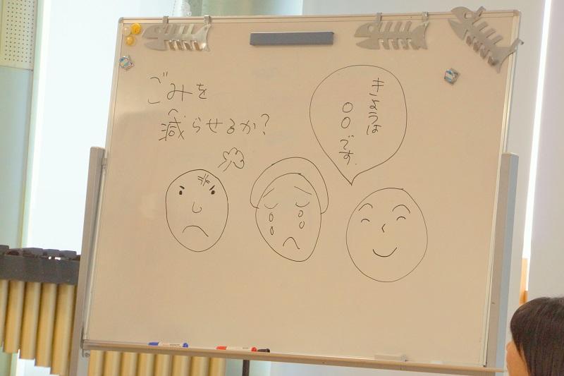 表情を描いてみましょう