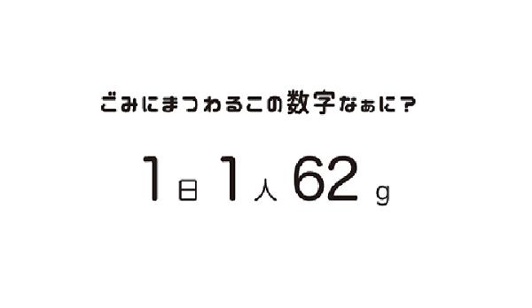1日1人62g