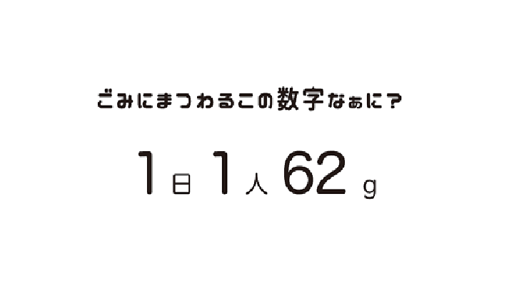 1日1人62g画像の説明文